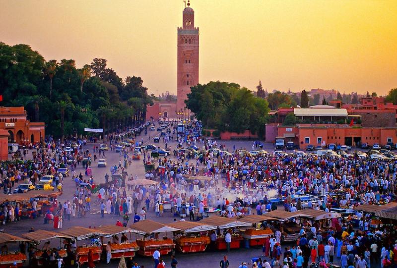 La Plaza Yamaa el Fna, Marrakech