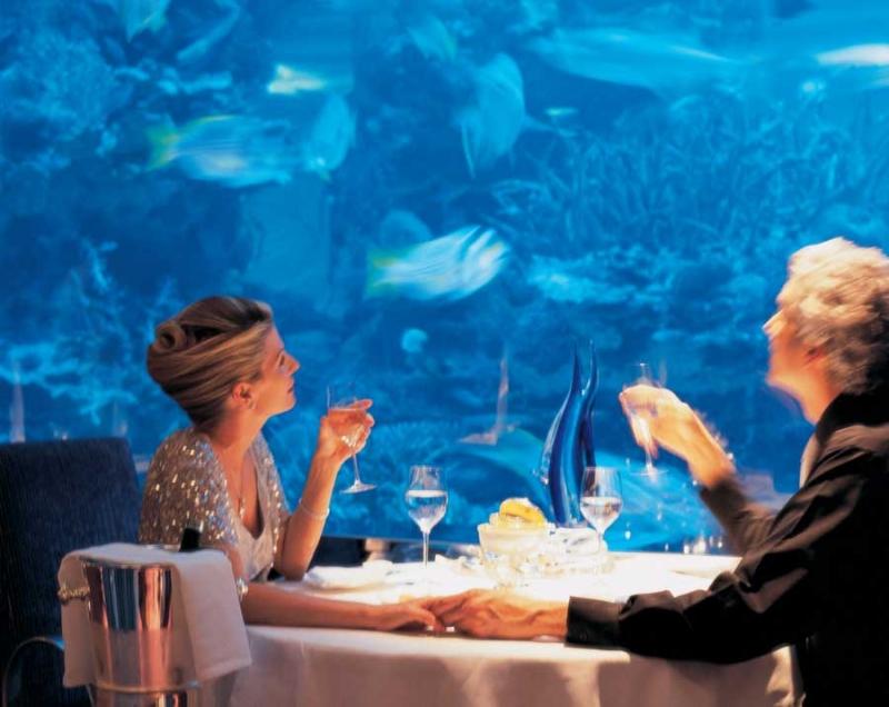 EL restaurante bajo el mar.