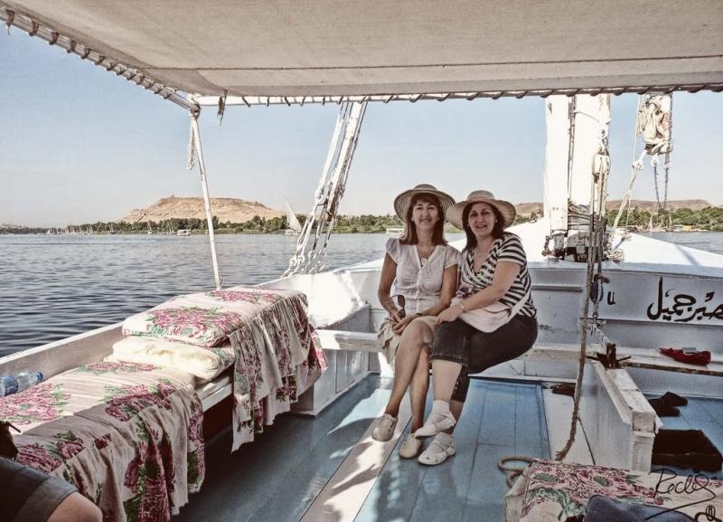 Excursión en Felucca por El Rio Nilo