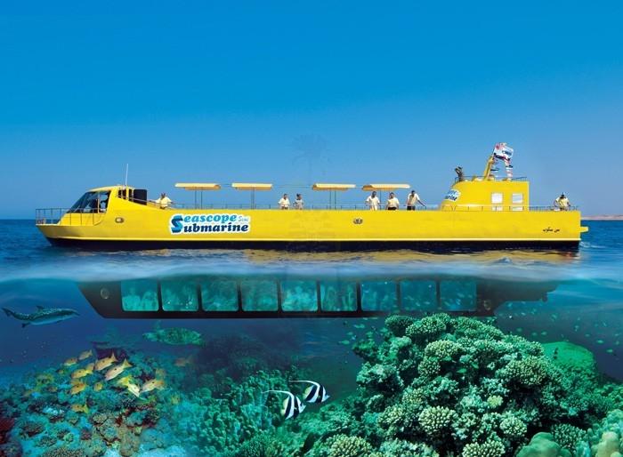 Semi Sottomarino a Sharm, Mar Rosso