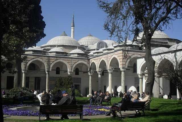 Cour principale, Palais de Topkapi