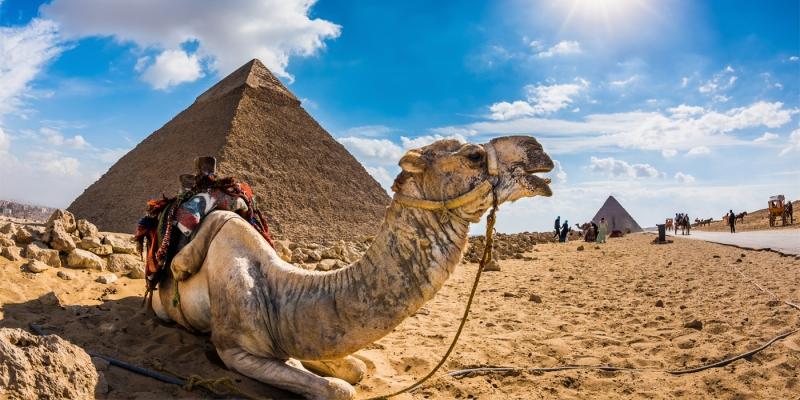 La Pirámide de Kefrén (Jafra)