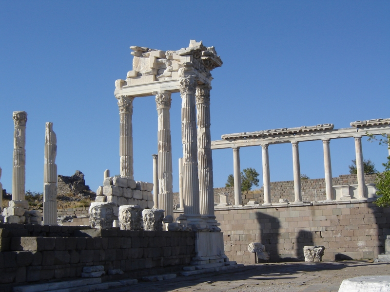 Izmir-Pergamon of Turkey