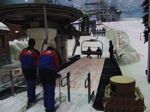 Ski Dubai Ausflug