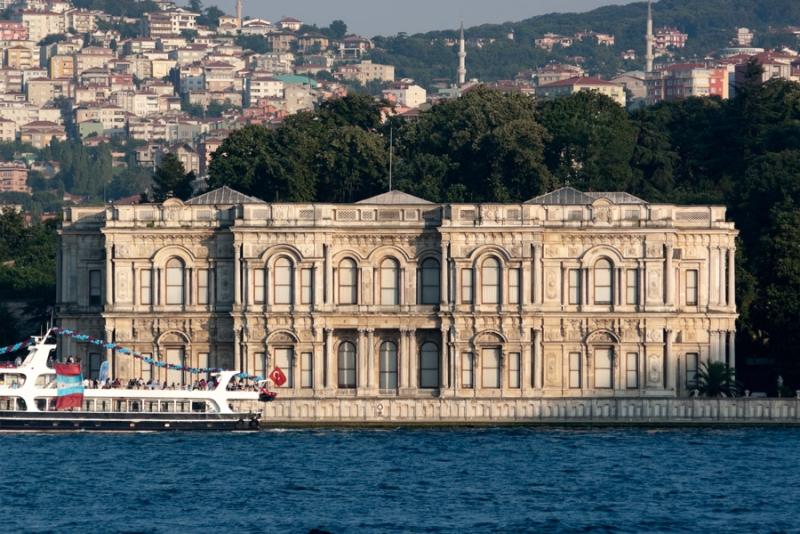 El Palacio de Beylerbeyi, Estambul.