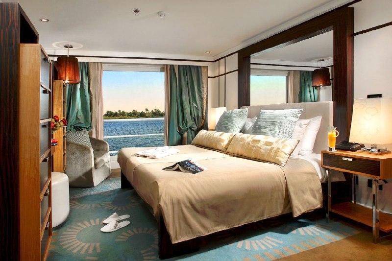 Sanctuary Sun Boat IV Nile Cruise Cabin