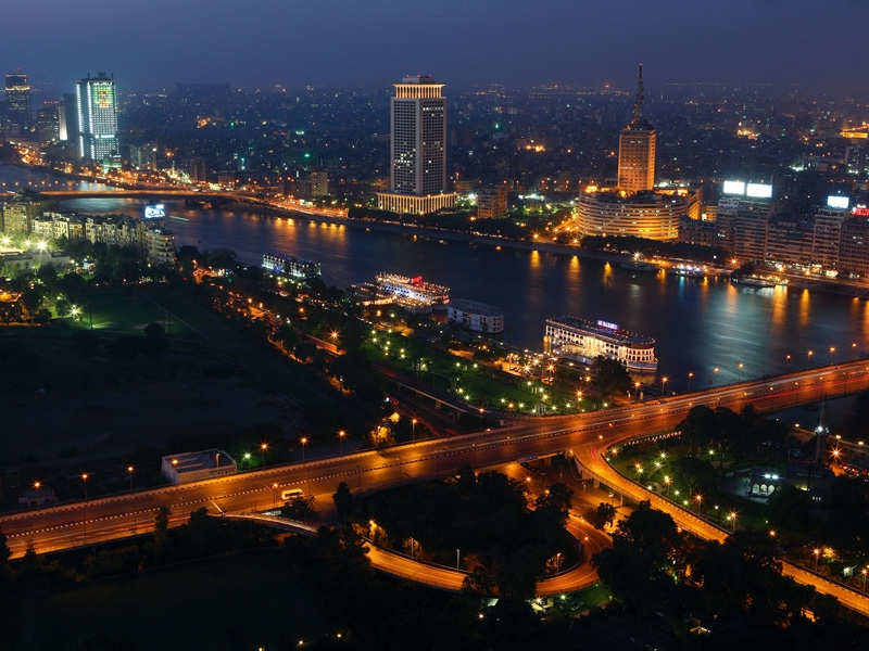 Cairo Panoramic View by Night