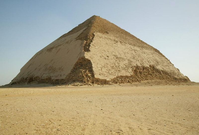 Bent Pyramid in Dahschur, Egypt