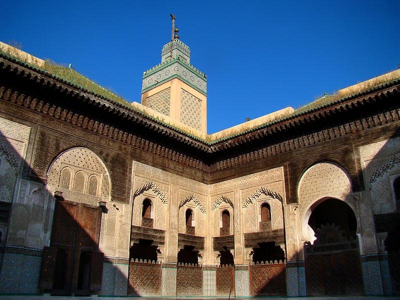 à madrassa (escola) Attarine Bou Anania - Fez