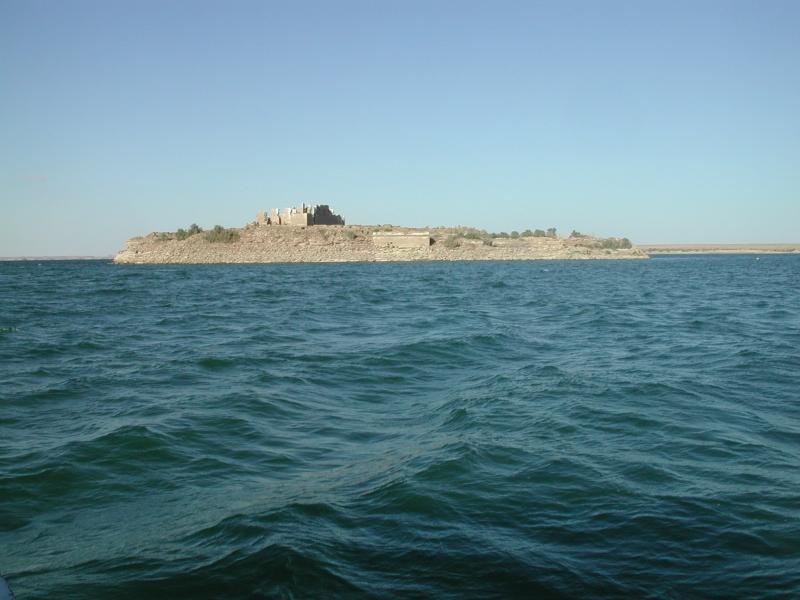 Qasr Ibrim, Lago Nasser