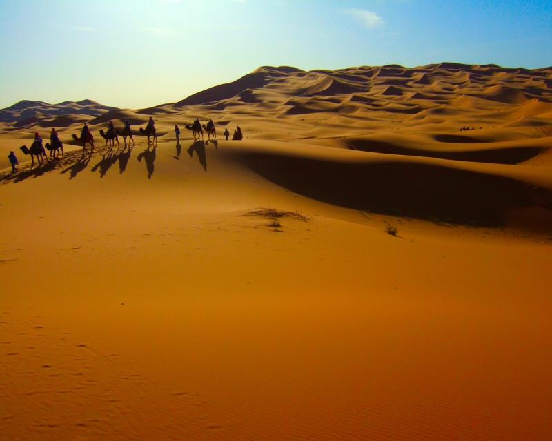 Férias em Família e Aventura no Deserto