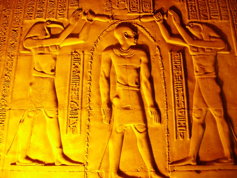 Pharaonic Inspiration at Edfu Temple