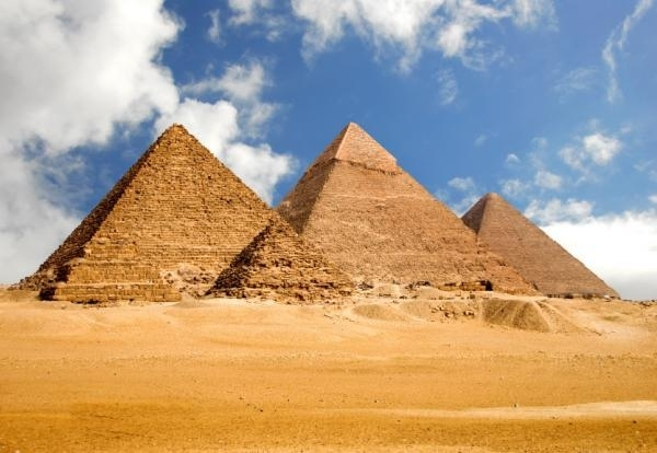 The Great Giza Pyramids