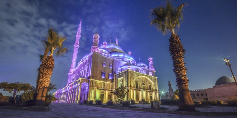 La citadelle de Saladin du Caire