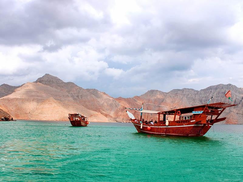 Crucero por Dibba Musandam