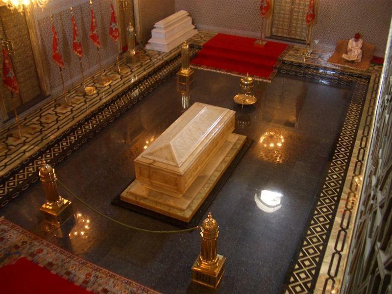 El Mausoleo de Moulay Idriss.