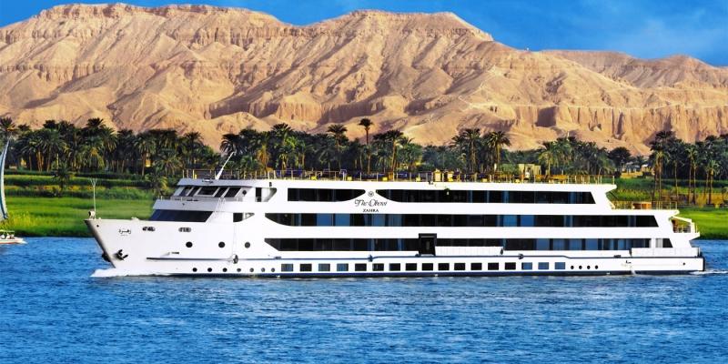 Crucero por El Nilo de Lujo (Oberoi Zahra)