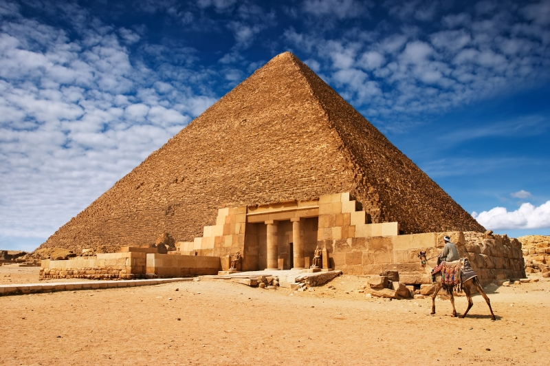 The Great Pyramids of Cheops and Solar Boat Museum