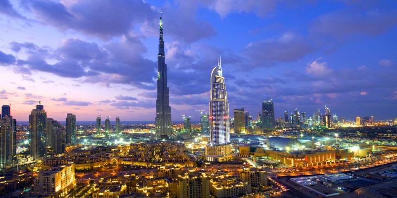 Burj Kahlifa in Dubai