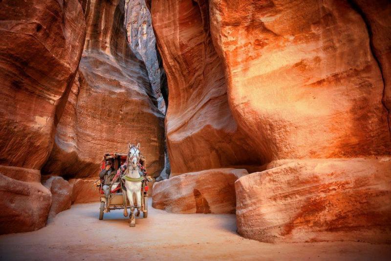 The Siq of Petra