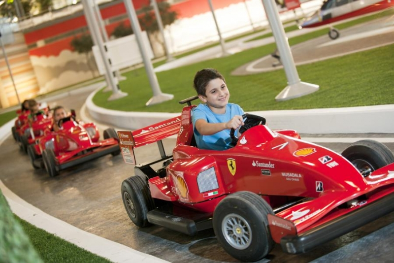 how to go to yas island from dubai