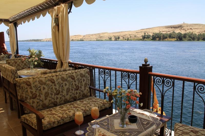 Rois Dahabiya Nile Cruise Sundeck