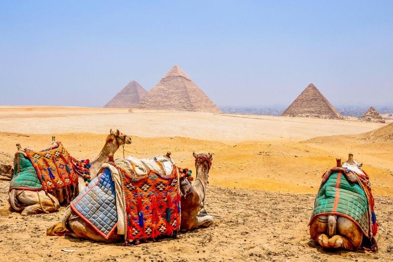 Panorama of Pyramids, Cairo