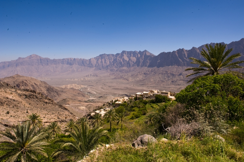 Wakan Village in Oman