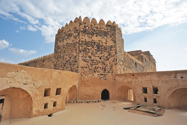 The Jabreen castle