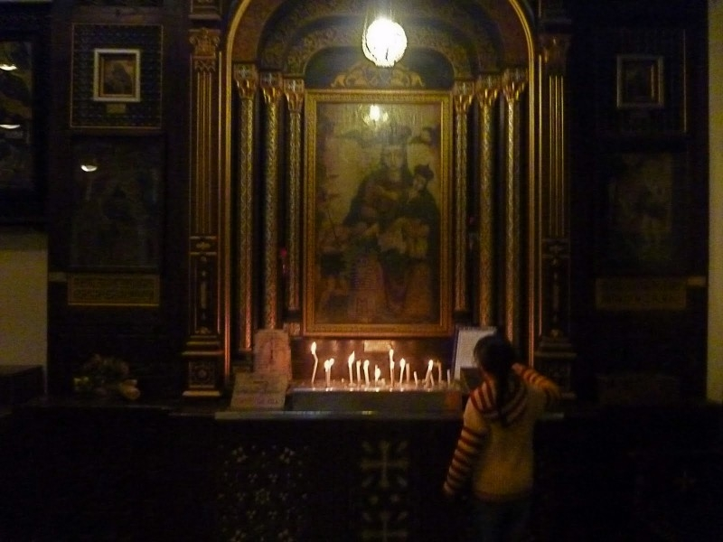 Icon from The Hanging Church in Old Cairo
