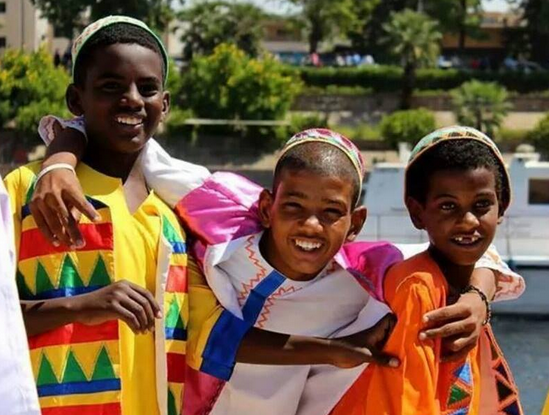 Beautiful Nubian Kids