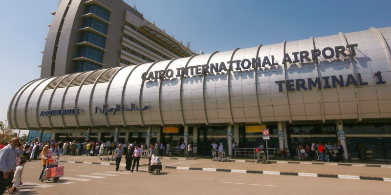 Arrival procedures at Cairo International Airport