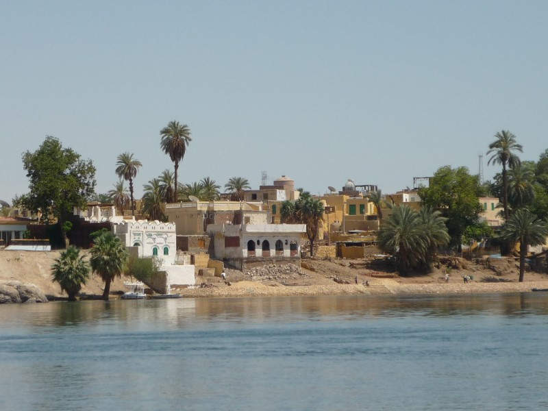 The Nubian Village on Soheil Island in Aswan