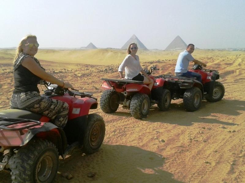 Quad Biking at Giza pyramids