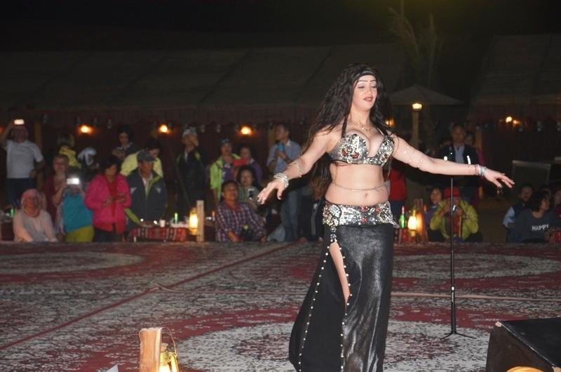 Belly Dancer in Dubai Desert