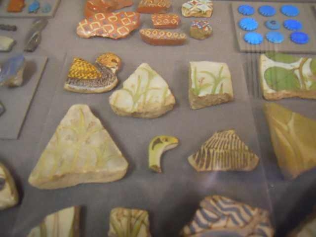 Faience and Glass from Amarna City, Petrie Museum