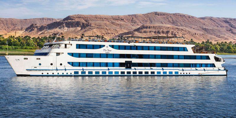 Crucero Oberoi Zahra En Navidad y Noche vieja en Egipto