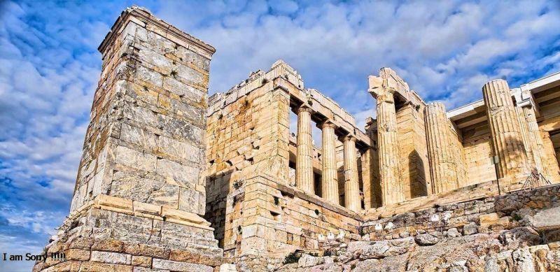 Los Propileos en Grecia