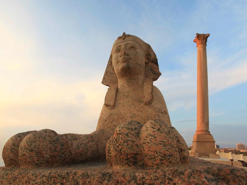 Pompey's Pillar in Alex