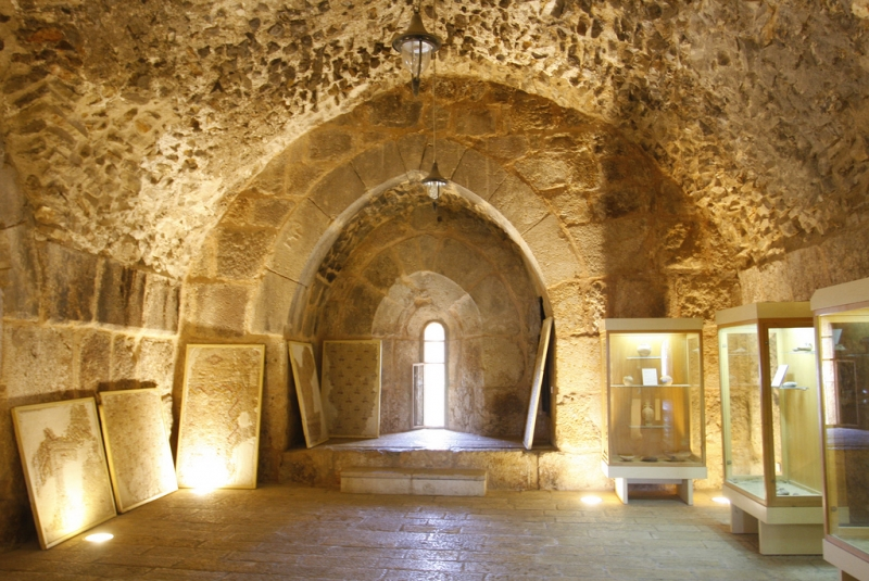 Ajloun Castle from Inside