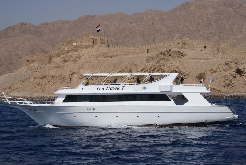 Diving Yacht at Ras Mohammed