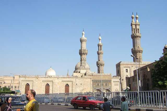 Downtown Cairo near Al-Azhar Mosque