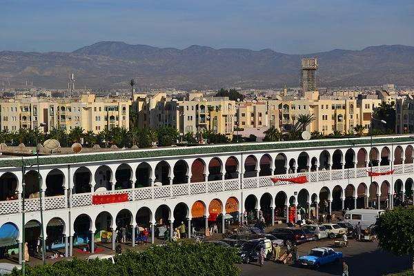 Inezgane en Agadir.