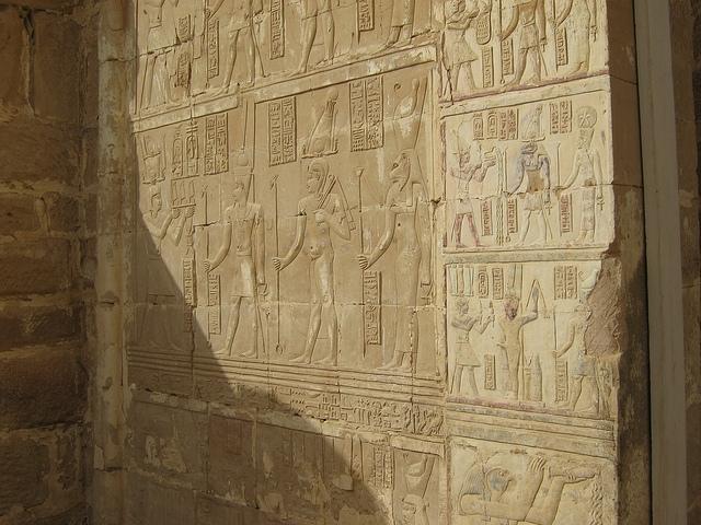 Roman  Temple in Deir El-hagar