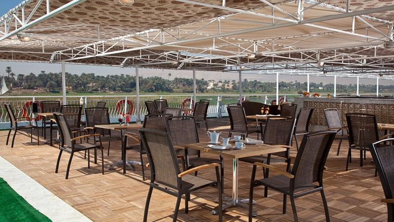 Minerva Nile Cruise Sundeck Restaurant