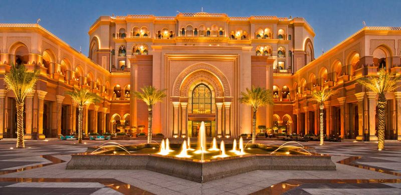 Palácio dos Emirados em Abu Dhabi