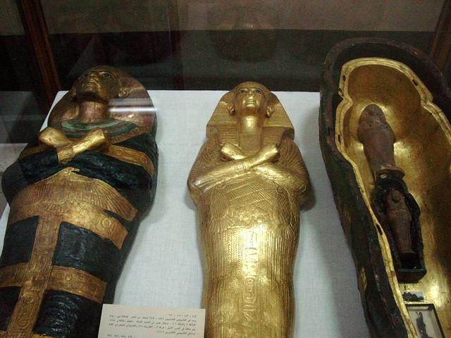 Tutankhamun's Coffin, Egyptian Museum