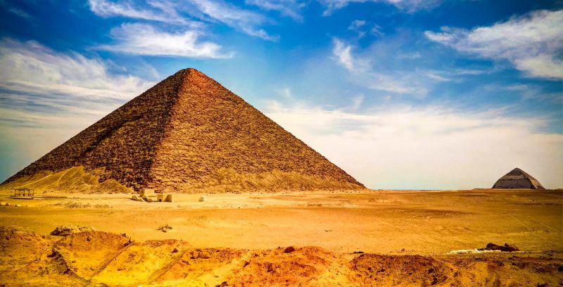 Pyramid of Cheops | Giza Pyramids | Egypt