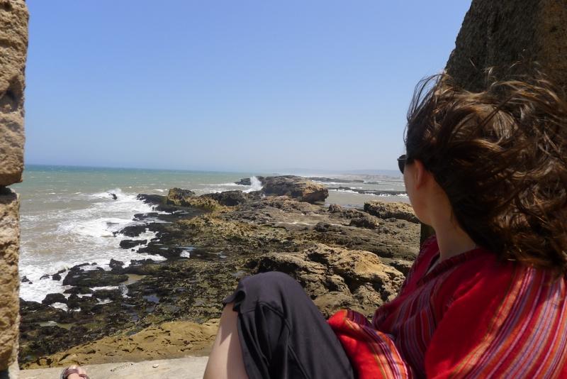 Relaxing in Essaouira