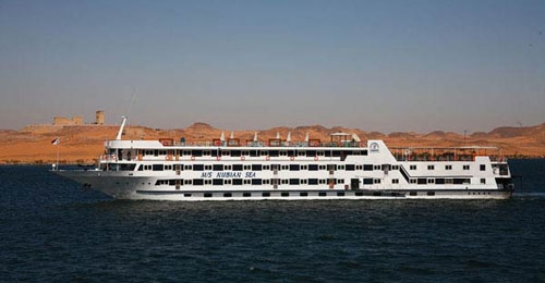 MS Nubian Sea ナセル湖クルーズ船